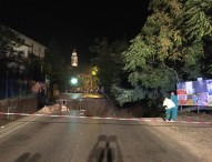 Crolla strada a Orciano