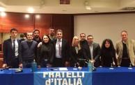 """Baldelli presenta il direttivo di Fratelli d'Italia: """"Partito giovane contro la casta"""""""