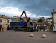 """Cantieri aperti in piazza dell'Unificazione e a Piano Marina, Lucchetti: """"Promesse mantenute"""""""