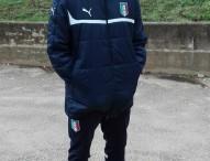 Lorenzo Schiaroli da Isola del Piano alla Nazionale Under 18