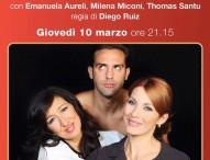 """Pergola, a teatro """"L' uomo perfetto"""" con Emanuela Aureli e Milena Miconi"""