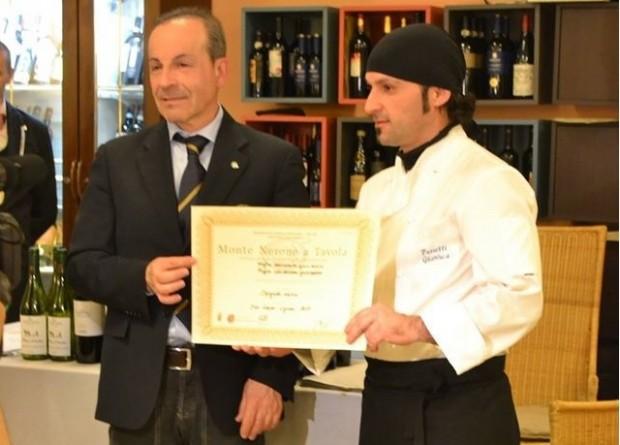 Concorso monte nerone a tavola vince lo chef gianluca - A tavola con lo chef ...