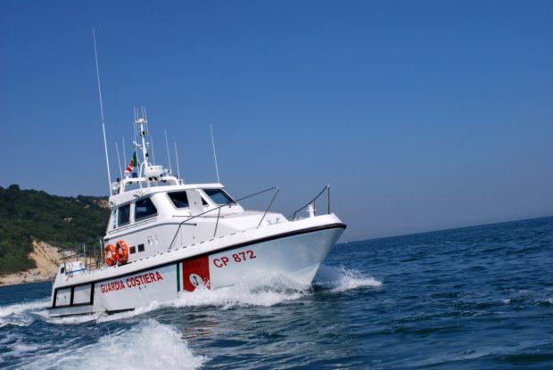 Ritrovato l'ordigno rilasciato in mare a 5 miglia da Marotta
