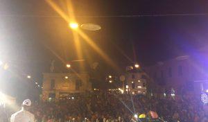 San Lorenzo in Campo, Pizza in Piazza concede il tris: invasione di turisti e visitatori