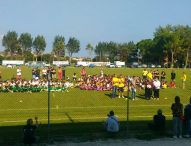 Sport, sole e divertimento, i giovani del Fano Rugby fanno festa a Montemarciano