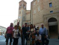 Cicloturismo, a San Costanzo le telecamere di Bike Channel