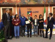 Città europea dello Sport 2017, Ricci e Della Dora ritirano il riconoscimento