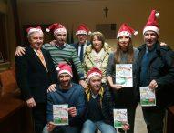 La Corsa dei Babbi Natale da San Giorgio a San Costanzo: solidarietà e divertimento