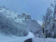 Emergenza neve, la situazione sulle strade provinciali. A Serra Sant'Abbondio 60 centimetri