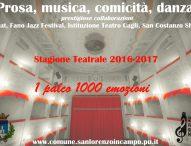 Stagione teatrale super a San Lorenzo in Campo: prosa, jazz, San Costanzo Show, prestigiose collaborazioni