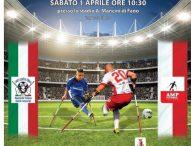 A Fano l'incontro internazionale di calcio amputati Italia-Polonia