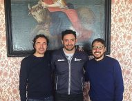 Davide Mazzanti l'orgoglio della città, il neo ct della nazionale di volley femminile ricevuto in Comune