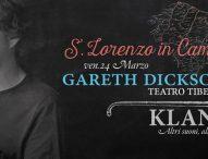 San Lorenzo in Campo, nel Paese della Musica in arrivo 3 grandi concerti. Si parte con Gareth Dickson