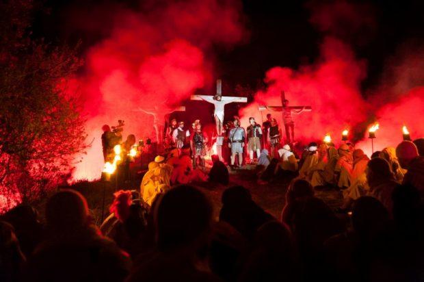 """Torna la """"Passio"""" a Serravalle di Carda, il 14 aprile rievocazione della passione e morte di Cristo"""