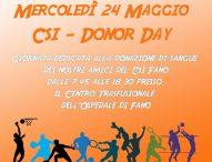 Al Csi Fano è il Donor Day