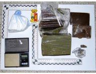 Hascisc e cocaina, tre marocchini in manette