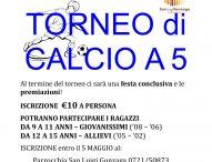 Tutto pronto per il torneo giovanile di calcio a 5 a Pesaro