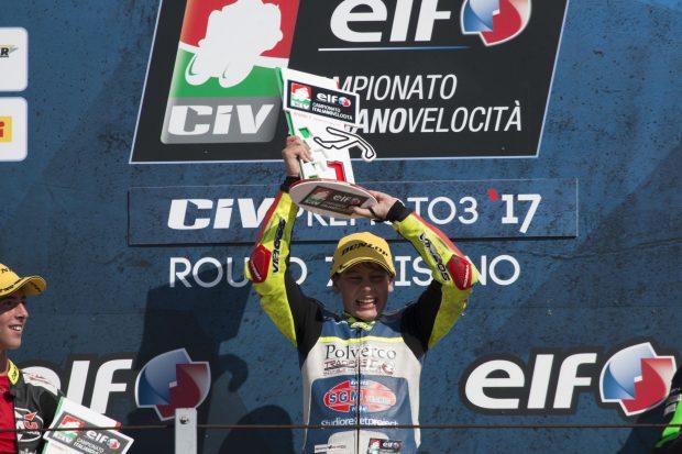 Vittoria per Marco Gaggi al Misano World Circuit