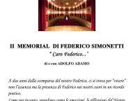 """""""Caro Federico"""", al teatro di San Lorenzo in Campo si ricorda Federico Simonetti tra una lacrima e un sorriso"""