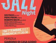 Il giardino di Casa Godio ospita Libera.Mente Jazz Night