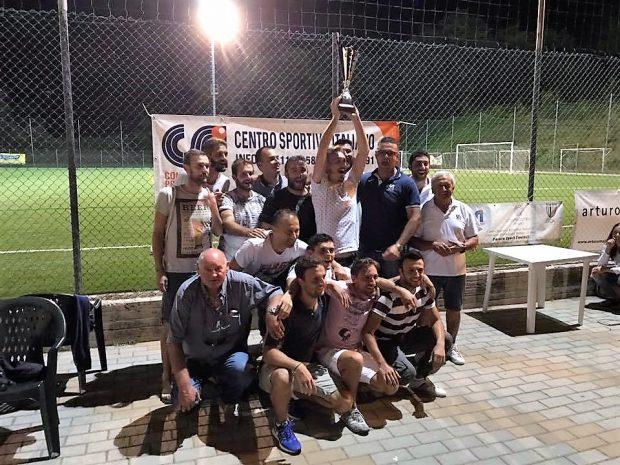 Csi Pesaro Urbino, calcio a 8: vittoria di Ifi spa nel quarto torneo enti e aziende