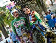 La Sassonia ospita Color Sea Festival, il primo contest di body painting