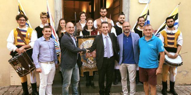 Pergola, Serata Medievale con 250 figuranti e la Quintana di Ascoli Piceno