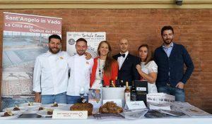 Sant'Angelo in Vado, al Salone Mondiale del Turismo presentata la Mostra Nazionale del Bianco Pregiato delle Marche