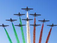 Le Frecce Tricolori per il 150esimo di Rossini
