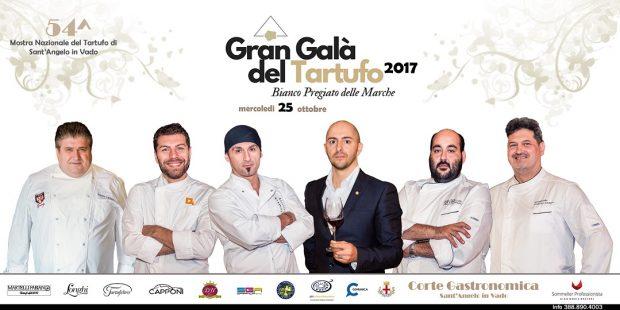 A Sant'Angelo in Vado il Gran Galà del Tartufo, 5 gli chef