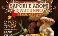 Ultima domenica di gusto al Codma con Sapori e Aromi d'Autunno