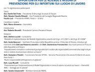 Sicurezza sul lavoro, prevenire i reati di omicidio colposo e lesioni gravi: convegno a Pesaro
