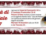 Il CSI Pesaro Urbino festeggia il Natale con l'Imperial gymnastic art