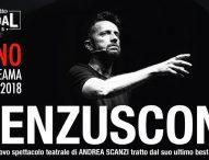 """A Fano il nuovo spettacolo di Andrea Scanzi """"Renzusconi"""""""
