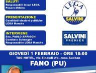 """Immigrazione, Arrigoni (Lega): """"A Pesaro-Urbino pioggia di milioni per accoglienza. Stop all'invasione"""""""