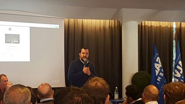 """Anche la Lega delle Marche alla riunione organizzativa a Milano: """"Tutti uniti per Salvini Premier!"""""""