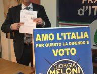 """Baldelli (Fdi): """"Candidati Pd e 5 Stelle scomparsi dalla campagna elettorale. Morani fugge dal confronto, Cecconi è un ectoplasma"""""""