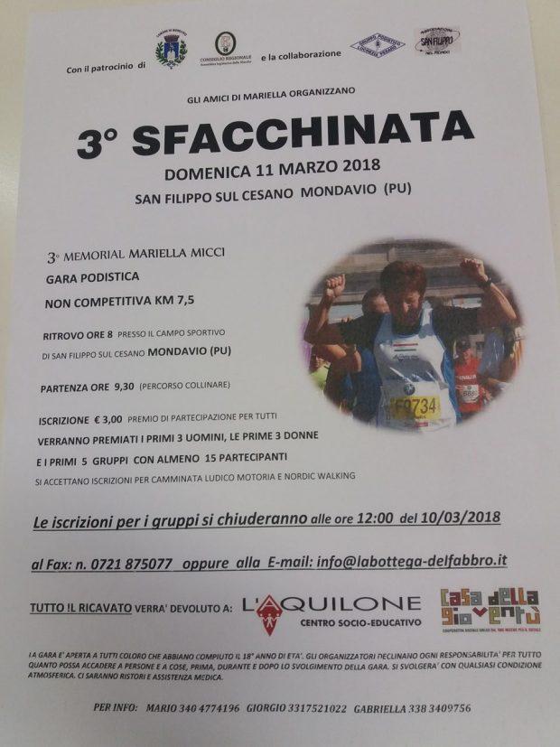 """A San Filippo la terza """"Sfacchinata"""" in ricordo di Mariella Micci"""