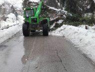 Maltempo, strade provinciali: criticità per ghiaccio e rimozione piante pericolanti