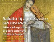 """Impronte Femminili a San Costanzo: letture ed esposizione di opere pittoriche """"Tratti di Donne"""""""