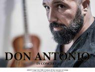 Don Antonio in concerto al teatro Tiberini di San Lorenzo in Campo