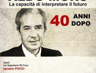 """""""Aldo Moro, 40 anni dopo. La capacità di interpretare il futuro"""": incontro con Pierluigi Castagnetti"""