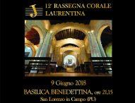 Nel Paese della Musica la Rassegna corale Laurentina