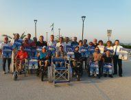 A Marotta spiaggia senza barriere, in tutti gli stabilimenti la sedia per disabili