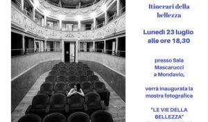 """Inaugurazione della mostra fotografica """"Le vie della bellezza"""" a Mondavio"""