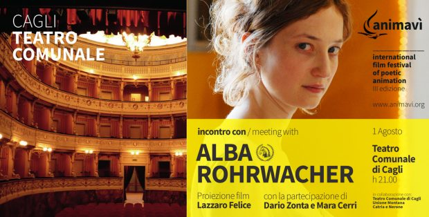 Animavì Festival, il teatro di Cagli ospita Alba Rohrwacher