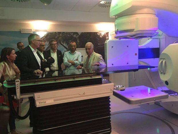 Inaugurato reparto di oncologia. Versa HD riesce a colpire i tumori di piccole dimensioni