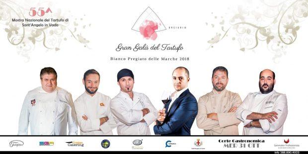 Gran Galà del Tartufo: a Sant'Angelo in Vado si incontrano i migliori chef e le cantine del territorio
