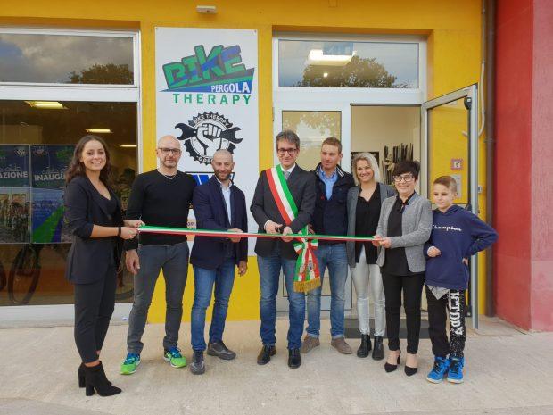 A Pergola apre Bike Therapy Garage