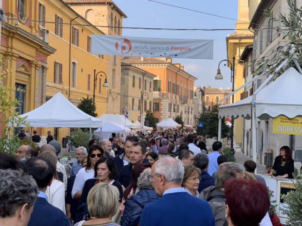 Visitatori da tutta Italia e anche europei alla Fiera del Tartufo di Pergola. E al Museo dei Bronzi boom di affluenza